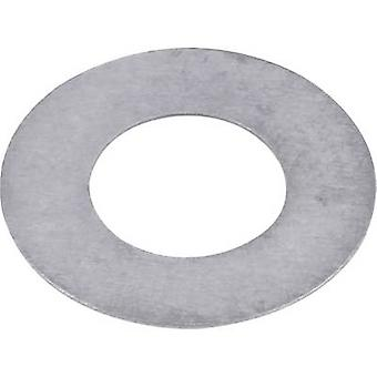 Steel Shim ring 4 mm 8 mm 0.2 mm 20 pc(s)