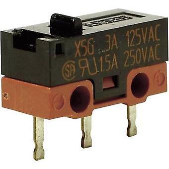 Saia Microswitch X5G303K1ANJ1 250 V AC 1.5 A 1 x On/(On) IP40 momentary 1 pc(s)