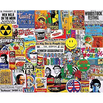 Livet i 60S 1000 stykke Jigsaw Puzzle 750 X 600 Mm