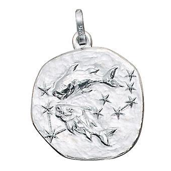 Trailer Zodiac fish Silver 925 sterling silver