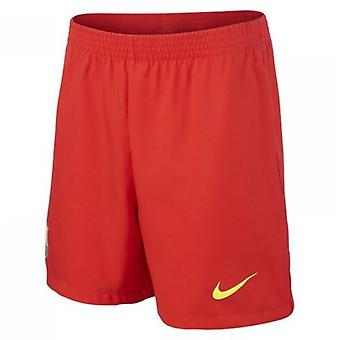 2013-14 Barcelona Away Nike Shorts (Kids)