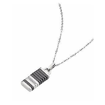 ZOPPINI Stainless Steel Ceramic Necklace