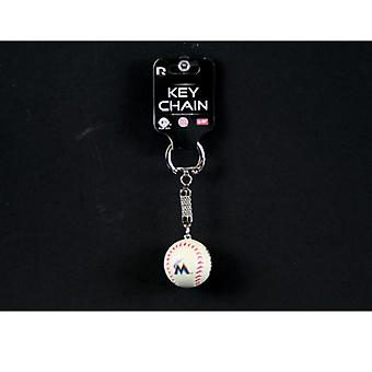 Miami Marlins MLB Baseball Key Chain