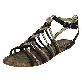 Sandalias de Gladiador Casual de mujeres Savannah