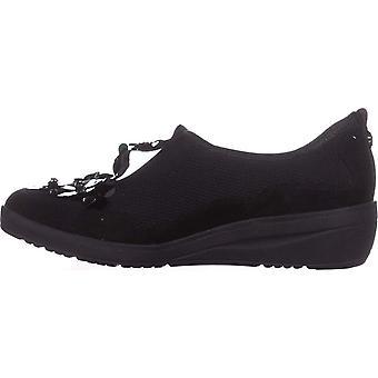أن كلاين النسائي النسيج يائيل زلة الأعلى منخفضة على أزياء أحذية رياضية