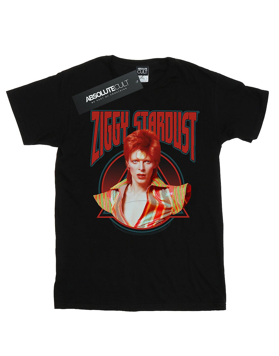 David Bowie Women's Ziggy Stardust Boyfriend Fit T-Shirt