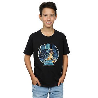 Star Wars garçons victoire Vintage T-Shirt