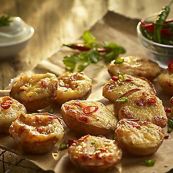 Bannisters Frozen Mini Cheese & Jalapeno Potato Skins