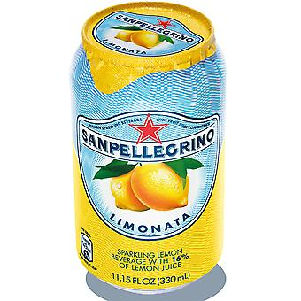 San Pellegrino frizzante limone Limonata lattine