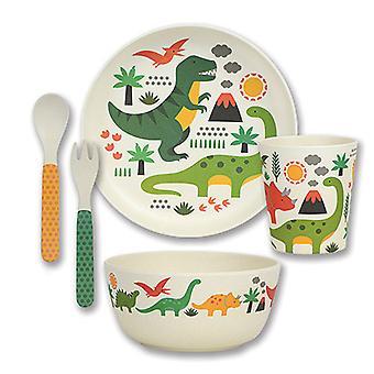 Petit Collage bamboe Dinnerware Set