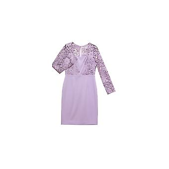 GINA BACCONI Dress 90131 Violet