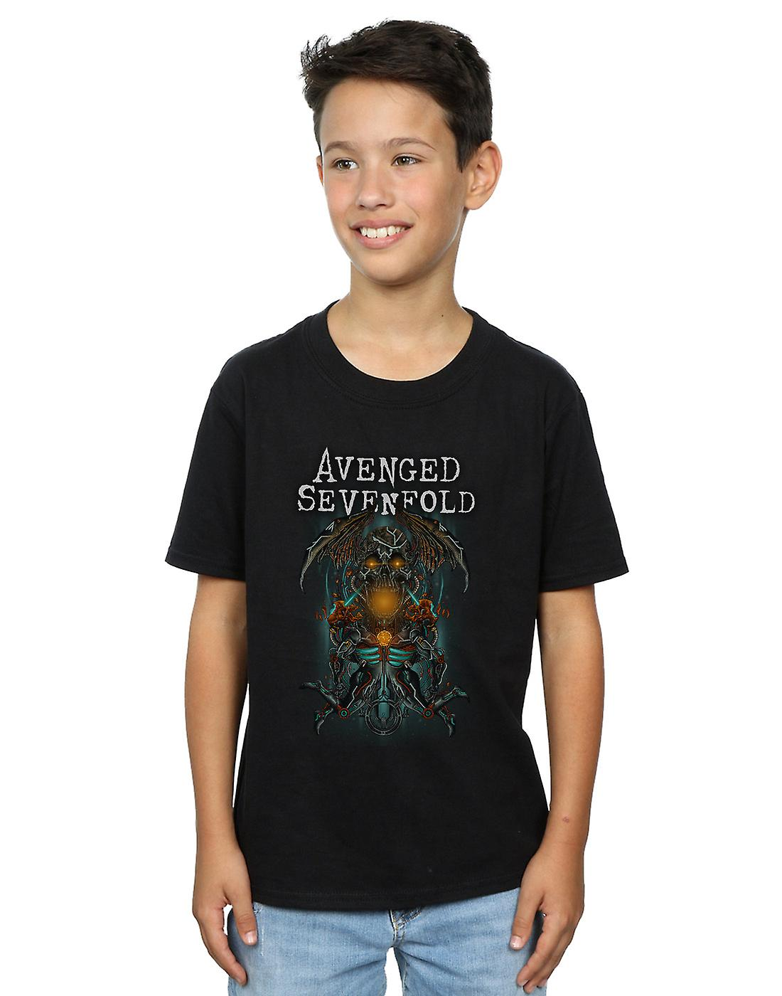 Avenged Sevenfold Boys Oracle Deathbat T-Shirt