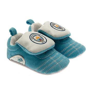 Manchester City-FC-Baby-Krippe-Stiefel