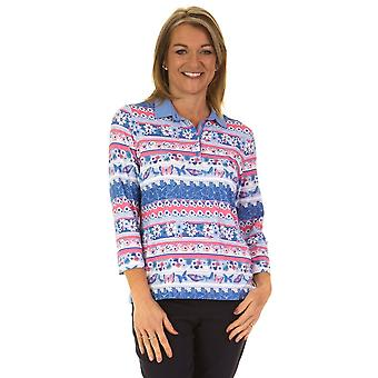 RABE Top 42 021358 Pink And Blue