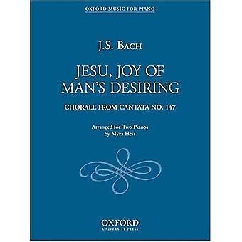 Jesu, Joy of Man's haluavat: Duet kahdelle pianolle
