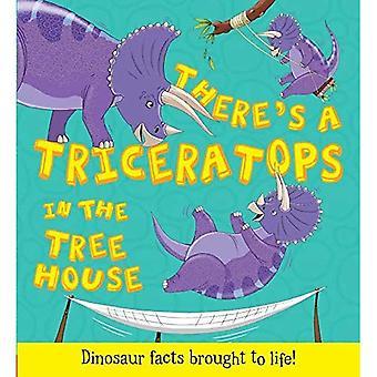 Que se passe-t-il si un dinosaure: il y a un tricératops dans la maison de l'arbre