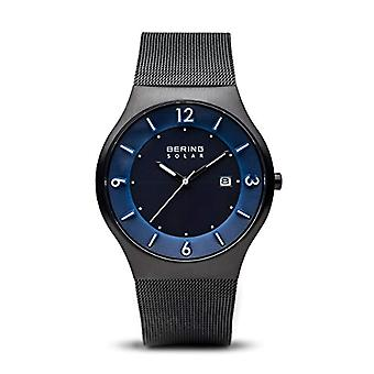 Bering Solar Analog Man with stainless steel strap Time Explorer