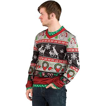 Ugly Christmas Deer Sweater Adult