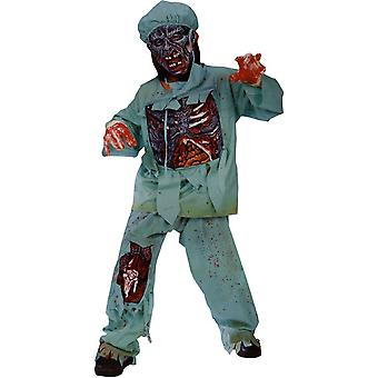 Sleleton Doctor Child Costume