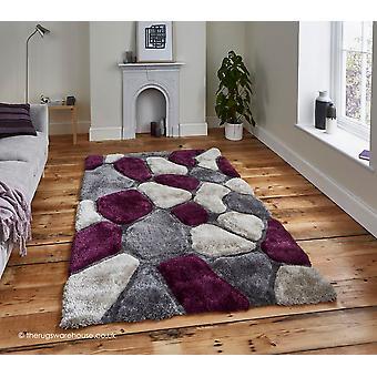 Slingeren grijs paarse deken