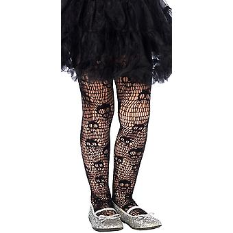 Skull Printed Tights Child