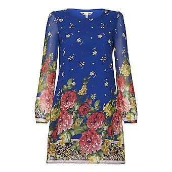 Yumi Womens/Ladies Floral Border Print Tunic
