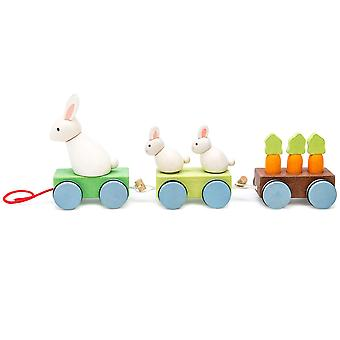 Le Toy Van Petilou Baby Bunny Train