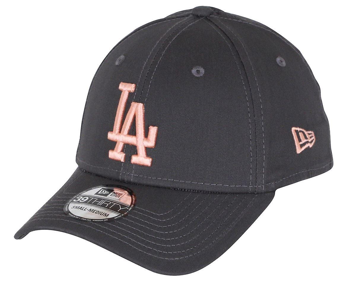 New Era League Essential 39Thirty Cap ~ LA Dodgers orange