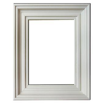 13x18 cm or 5x7 inch, photo frame in white