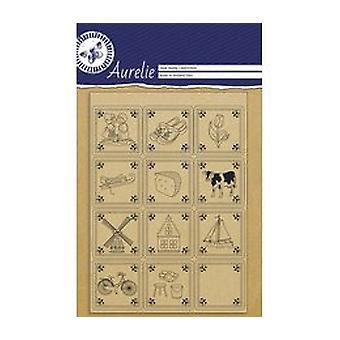 Aurelie Tiles Clear Stamps