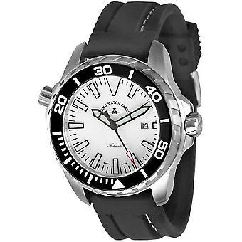 Zeno-watch reloj profesional buzo Pro 2 blanco 6603-a2