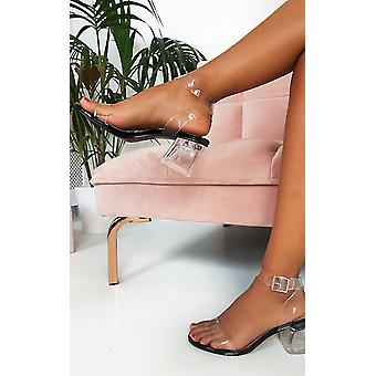 IKRUSH женские Steffi Perspex блок каблуки