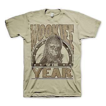 Uomo Star Wars Wookiee dell'anno Khaki T-Shirt