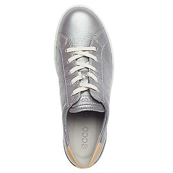 Ecco Womens 2019 Leisure Rich Leather Comfy Trainers