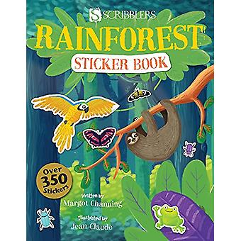 Rainforest Sticker Book by Margot Channing - 9781912233175 Book