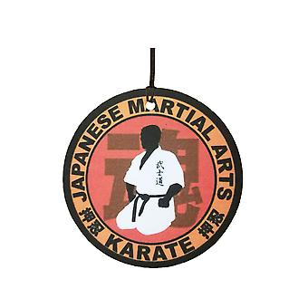 Arts martiaux japonais Karate Car Air Freshener