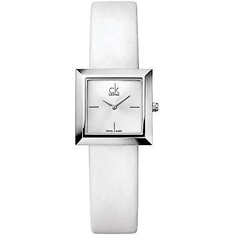 Calvin Klein Ck Mark Leder Damen Uhr K3R231L6