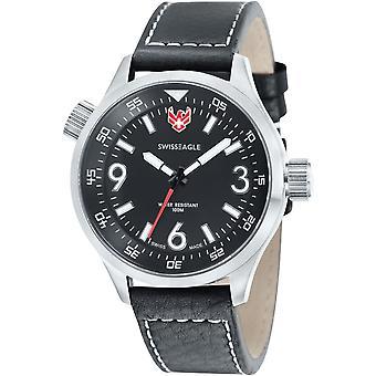 Swiss Eagle SE-9030-01 Heren Horloge
