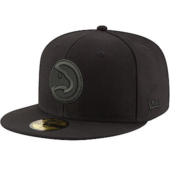 New Era 59Fifty Cap - NBA BLACK Atlanta Hawks