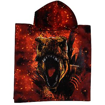 Jurassic World T-Rex Badponcho badehåndkle poncho 100 * 50cm