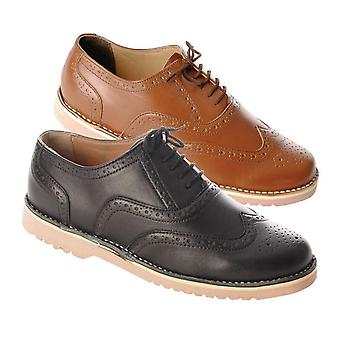 Gent's Leather Summer Brogues (Pair)