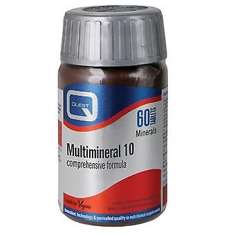 Quest Vitamins Multimineral 10 Tabs 60 (601380)