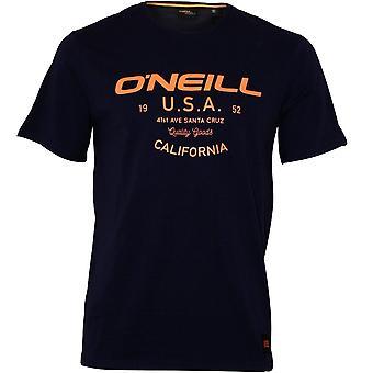O'Neill LM Dawson Crew-Neck T-Shirt, Ink Blue