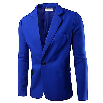 Allthemen Men's Suit Jacket Slim Fit Business Casual Blazer