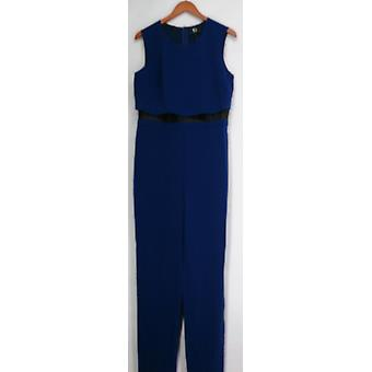 Giuliana Jumpsuits Geschichte Scoop Neck Tank Jumpsuit Royal Blue Womens 439-752