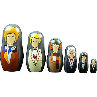 Doctor Who First Sixth Doctor Nesting Doll Set (en)