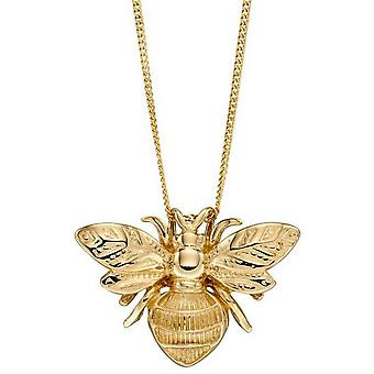 Elements Gold Bee Pendant - Gold
