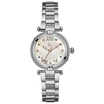 gc- ladychic Watch for Women Analog Quartz with Stainless Steel Bracelet Y18001L1