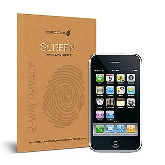 Celicious Privacy 2-Way Anti-Spy Filter Screen Protector Film compatibile con Apple iPhone 3GS