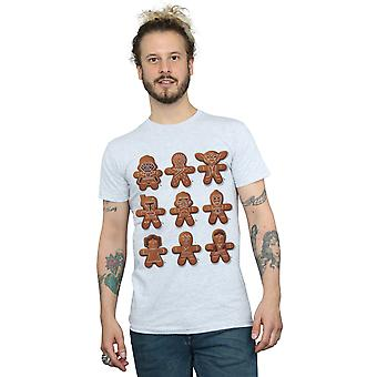 Star Wars Men's Christmas Gingerbread T-Shirt